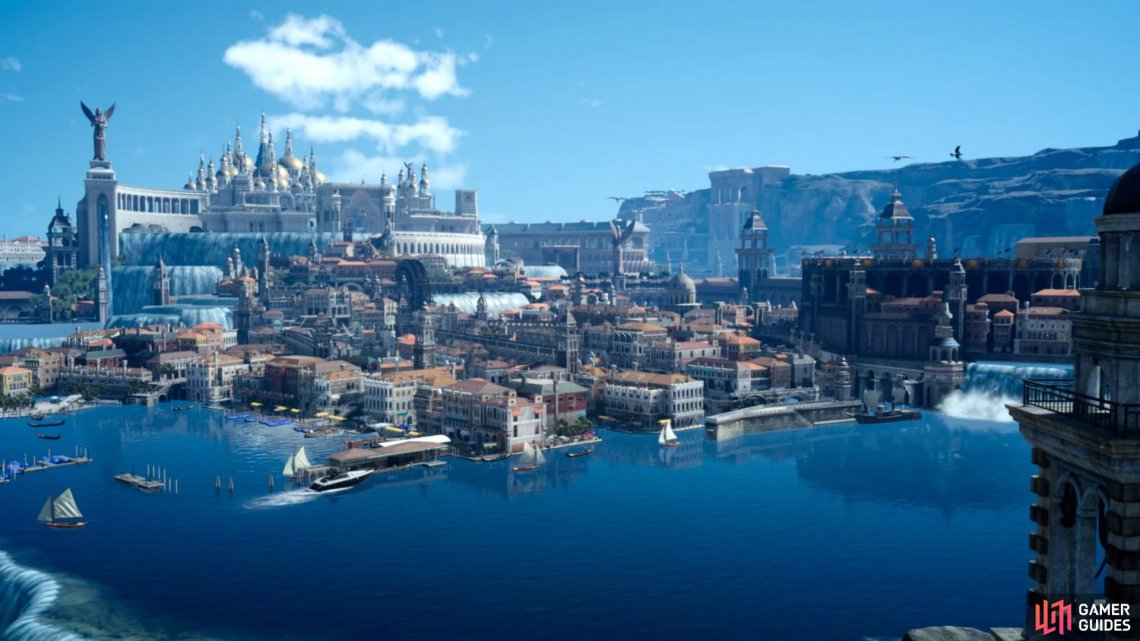One of the most memorable cities in a Final Fantasy ever and well worth the wait.