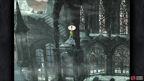 The location of The Tower weapon in Memoria
