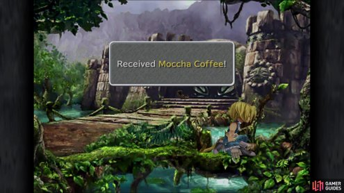 Don't forget to grab the Moccha Coffee at the South Gate