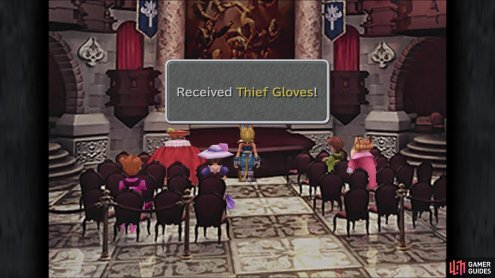 Make sure you go to Treno and win the Thief Gloves from the auction